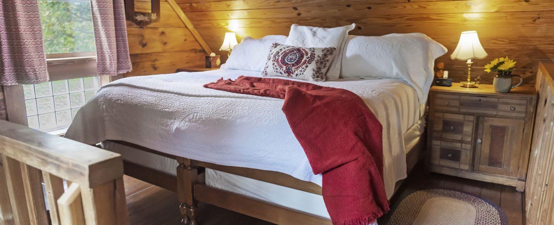 Carolina Log Cabin Bed