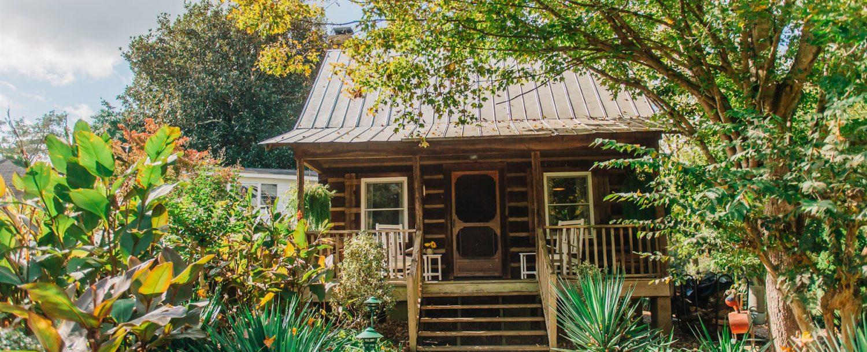 Carolina Log Cabin Exterior