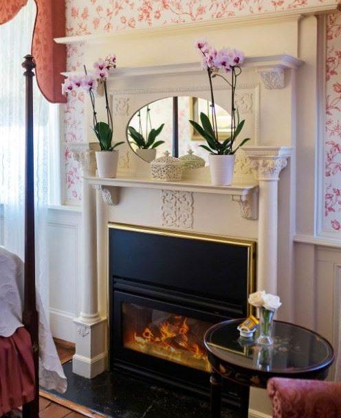 Mason Room Fireplace